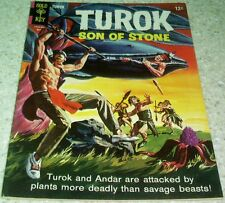 Turok Son of Stone 45 VF (8.0) 1965 High Grade Gold Key File Copy 40% off Guide!