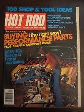Hot Rod Magazine April 1976 Setup Home Workshop Buying Parts Z5 Z6 CC C1 LL