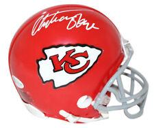 Christian Okoye Autographed/Signed Kansas City Chiefs Mini Helmet BAS 25568