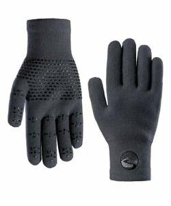 2022 Crosspoint Knit Wool Waterproof Gloves in Grey by Showers Pass