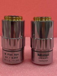Mitutoyo M plan Apo 2x/0.055