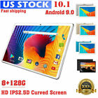 """10.1"""" WIFI+4G Tablet PC Android 9.0 Ten-Core 8+128G 2*SIM Camera Phablet 9000mAh"""