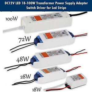 UK Stock LED Driver Switch Power Supply Transformer  - for  AC 240V to DC 12V