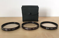HOYA 55mm Glass Polarizer Filter +1 +2 +3 w/ Case