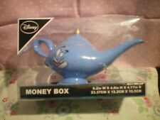ALADDIN MONEY BOX..GENIE'S LAMP..DISNEY..NEW IN BOX fab gift.. secret santa