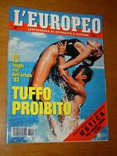 EUROPEO 1993/27=ROBERT SEWELL USTICA DC9=BONO VOX U2 ZOOROPA=DYLAN DOG E ALTRI=