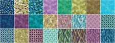 "Dance of the Dragonfly, 42 10"" Squares Quilting Fabric, DOD10PK"