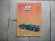 Automobil Revue Katalog 1948, Hallwag - Verlag, Bern