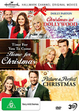 Hallmark Christmas 3 Film Collection (reg 4) DVD at Dollywood Picture a