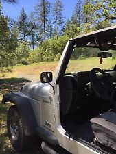 JEEP mirrors RECTANGULAR TJ YJ CJ Stainless Ridecraft