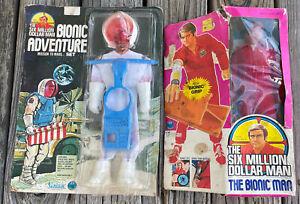 RARE Six Million Dollar Man Steve Austin Bionic Grip &  Mission to Mars Set HTF