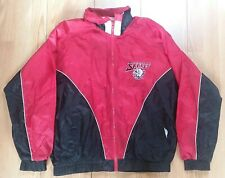Vtg FANS GEAR Buffalo Sabres NHL Hockey 2 Tone Pocketed Windbreaker Jacket Sz L