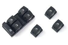 Per Audi A3 S3 8P/A6 S6 4F C6/Q7 4L Alzacristalli Interruttore 4-Türer Set