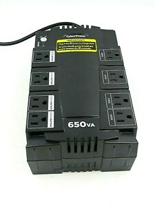 CyberPower 650VA Battery Backup and Surge Protector SE450G