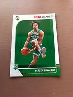 Carsen Edwards Rookie Card: 2019-20 Panini Hoops
