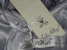 LILY WHYT SilverSequinMicroMiniPartySize8NWT