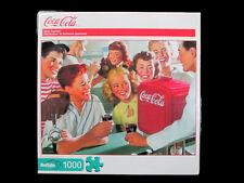 "Coca-Cola Buffalo Games Jigsaw Puzzle 1000 Pieces ""Soda Fountain"" - BRAND NEW!"