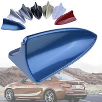 Car Auto Antenna Roof Radio AM/FM Dummy Signal Shark Fin Aerial Universal Blue