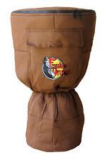 Freedom Drums Padded Brown Djembe Bag 20x12 Drum Case