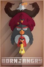 "Angry Birds - Born to be Angry  Maxi Poster 24"" x 36"""