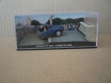 miniature ixo renault 11taxi - a view to a kill - 007