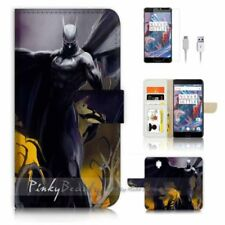 Batman Mobile Phone Wallet Cases for OnePlus 3