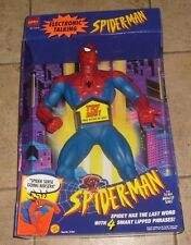 RARE SPIDER MAN ANIMATED TOY BIZ DELUXE LEGEND TALKING FIGURE MIB NEW SPIDERMAN