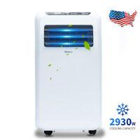 Shinco 10,000 BTU Portable Air Conditioner,Dehumidifier Fan Functions,w/ Remote