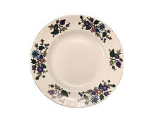 """More details for 9"""" vintage midwinter alpine blue dinner plate by jessie tait"""