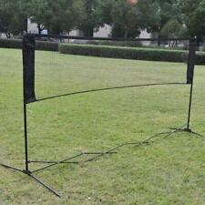 6.1m x 0.76m Professional Training Square Mesh Badminton Net Green