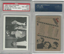 1985 FTCC, Three Stooges, #23 What Were The Names, PSA 8.5 NMMT+