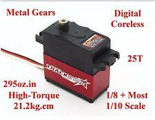 MG Servo Traxxas Slash Rustler E T Maxx Revo Brushless VXL 3.3 2.5 R .15 4x4 RTR