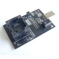 eMMC100 BGA100 IC test socket Nand flash Pitch 1.0mm Reader programming 14x18mm