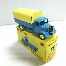 Atlas 1:43 Diecast Dinky Toys 413 BLUE AUSTIN COVERED WAGON Car Toy Gift
