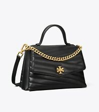 Pre Order Authentic TORY BURCH KIRA CHEVRON SMALL TOP HANDLE SATCHEL BAG