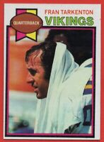 1979 Topps #200 Fran Tarkenton PACK FRESH NEAR MINT+ Minnesota Vikings FREE S/H