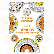 Sophie Leblanc Art Therapy: Mandalas: 100 Designs for Colouring NEW