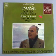 LP-Dvorak-del Nuovo Mondo-Filarmonica n. 9-Bruno Walter-Columbia