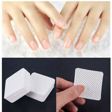 100 x Nail Art Manicure Polish Remover Cleaner Wipe Lint Hot Cotton Pads Paper