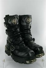 NEW ROCK REACTOR BOOTS 4 STRAPS ZIP ANATOMICAL SOLE SIZE 5 UK