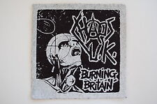 "Chaos UK Cloth Patch Sew On Badge Punk Rock Disclose Gauze Approx 5""X5"" (CP25)"