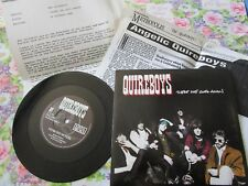 """The Quireboys There She Goes Again Survival Records SUR 46 Press release + 7"""""""