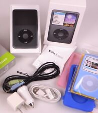 Near Mint Black Apple iPod Classic 160Gb 7th LOW HOURS FREE SHIPPING ABROAD