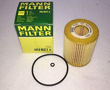 Filtro de aceite Mann-Filter hu821x mercedes w211 w221 280 320 CDI w164, entre otras cosas, oilfilter