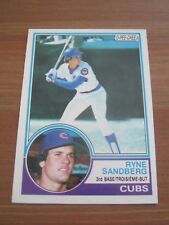 1983 OPC O Pee Chee # 83 Ryne Sandberg - Cubs Phillies Rookie Card RC