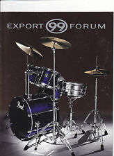 VINTAGE MUSICAL INSTRUMENT CATALOG #10562 - PEARL DRUMS  - EXPORT 99 FORUM