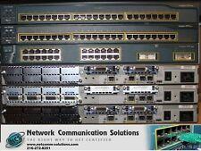 BEST CISCO CCNA CCNP LAB 2x 2950 1x 3550 Switch 2x 2611 1x 2620XM Router SDM CME