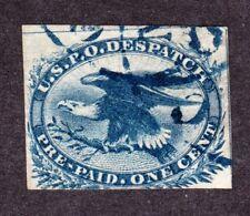 Us Lo2 1c Eagle Local Carrier Used w/ Blue Cincinnati Cancel Fine Scv $280