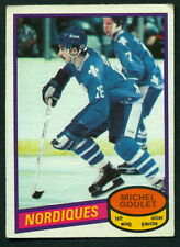 1980 81 OPC O PEE CHEE 67 MICHEL GOULET EX+ RC QUEBEC NORDIQUES HOCKEY CARD
