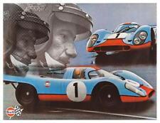 Porsche *POSTER*  917 race car Jo Siffert 911 - AMAZING ART PRINT Derek Bell